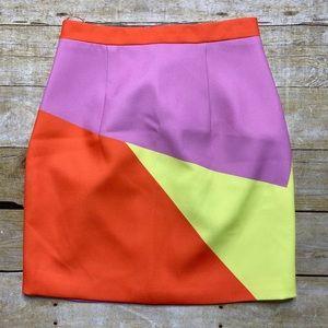 NWT By Johnny Multi Spice Mini skirt